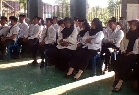 66 Anggota Pengawas TPS di Sinjai Tengah Dilantik