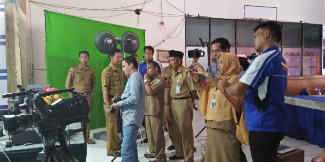 Diskominfo Pangkep Belajar Pengelolaan Media Elektronik di Sinjai