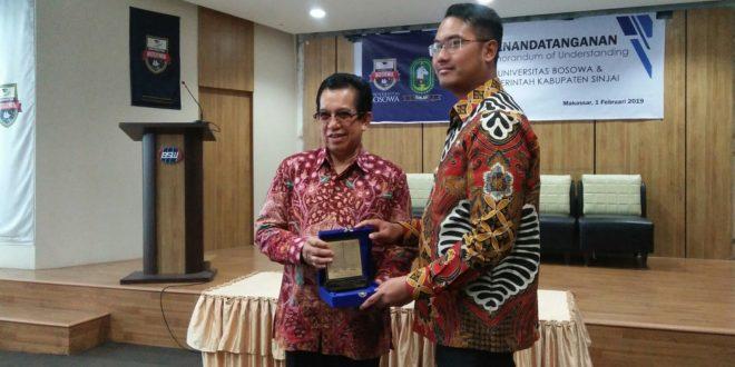Lagi,  Pemkab Sinjai Jalin Kerjasama Dengan Unibos Makassar