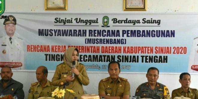 Wabup : Program di Desa Harus Sinkron Dengan RPJMD