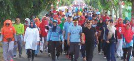 Jalan Sehat Warnai Ajang Festival Buah