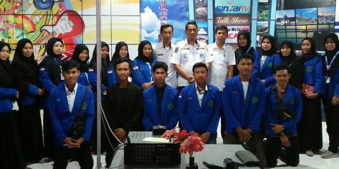 19 Mahasiswa IAIN Bone Kembali Magang di Sinjai TV