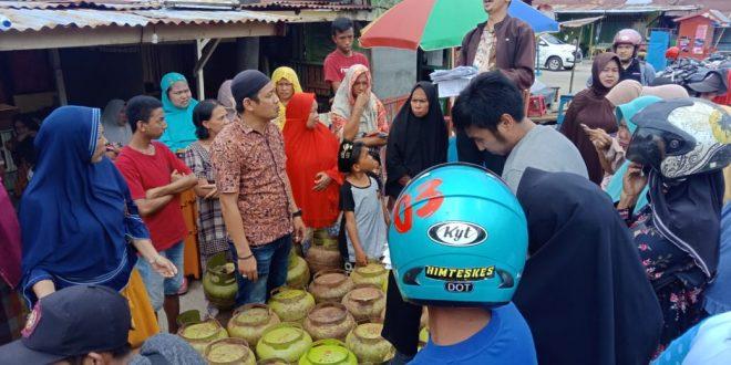 Jelang Idul Adha,  Disperindag Sinjai Gelar Operasi Pasar  Gas Elpiji 3 Kg