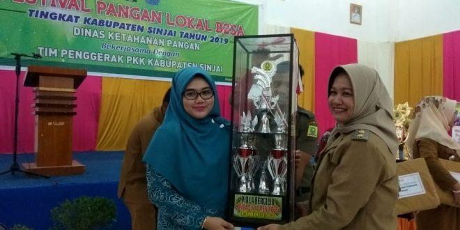 Kecamatan Pulau IX Raih Juara Pertama Festival Pangan Lokal