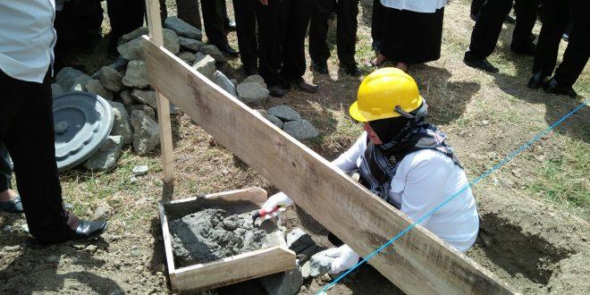 Wakil Bupati Hadiri Peletakan Batu Pertama Pembangunan Gedung Workshop MAN 1 Sinjai