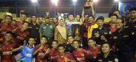 SMAN 5 Sinjai Juarai Turnamen Futsal IKMS Cup III