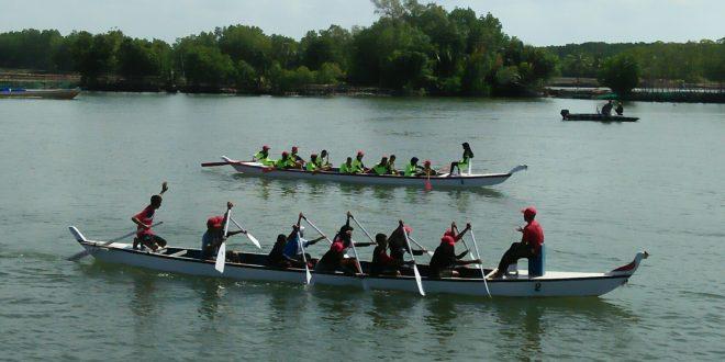 Ini Kecamatan Yang Lolos Di Final Lomba Dayung Perahu Naga