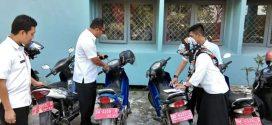 Pemeriksaan Kendaraan Dinas Lingkup Bappeda Sinjai