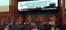 Pemkab Sinjai Gelar Sosialisasi Program Pamsimas Untuk Usulan Tahun 2020